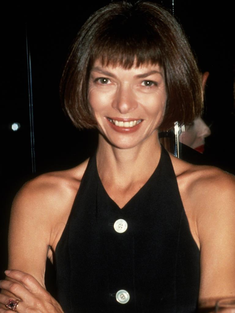 Anna Wintour circa 1980s in New York City. Picture: Getty Images