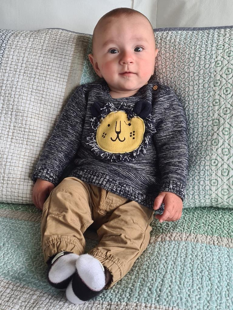 Liam George Taylor is now six months old.