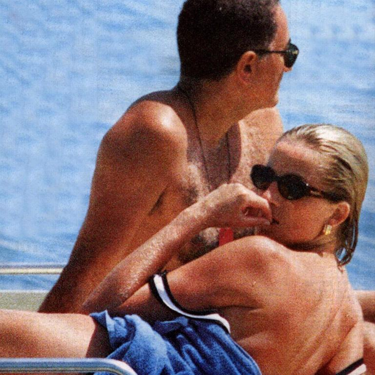 Diana was enjoying a new summer romance with Dodi Al Fayed.