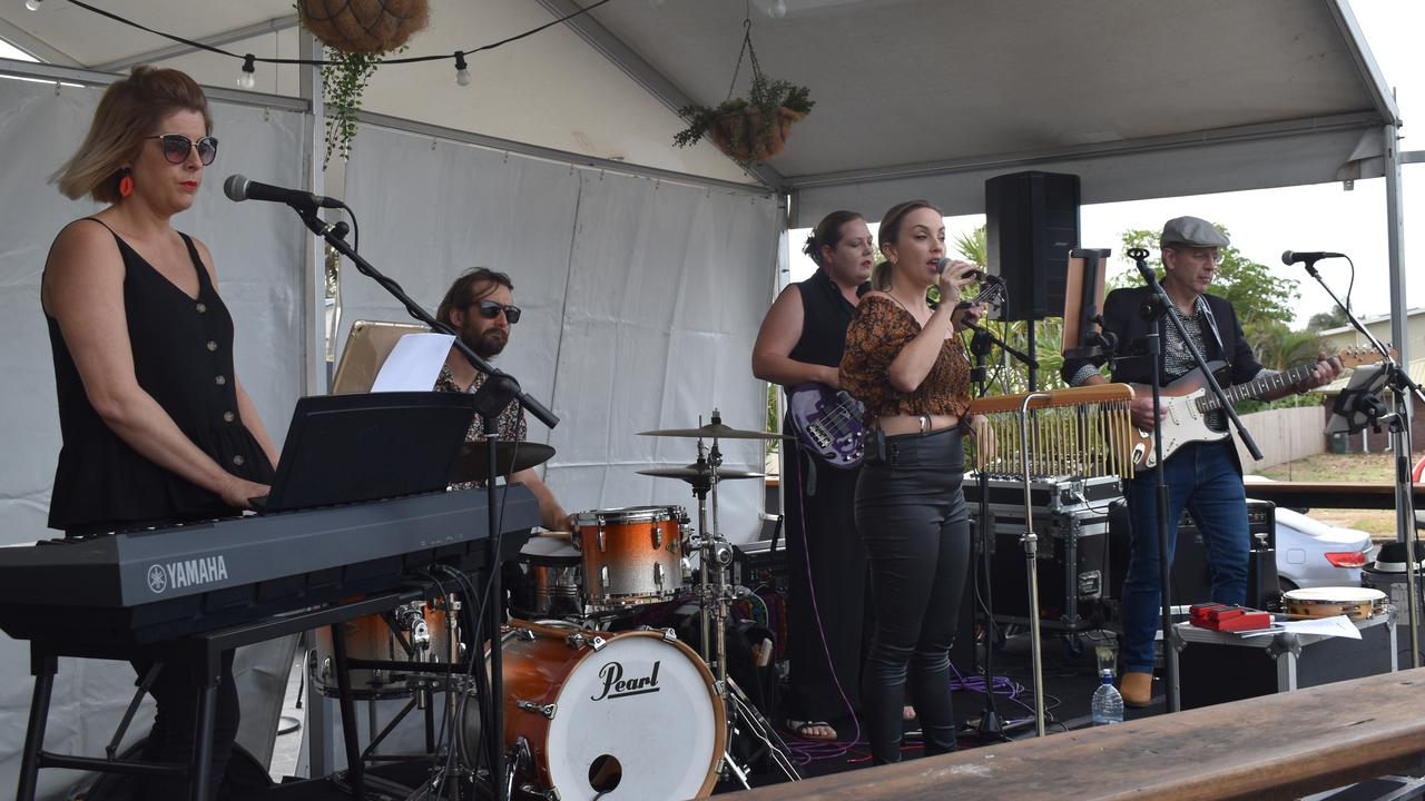 at Jazz by the Beach 2020 at the Seabreeze Hotel at Slade Point. Picture: Heidi Petith