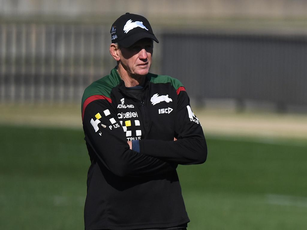 Wayne Bennett currently coaches the South Sydney Rabbitohs.