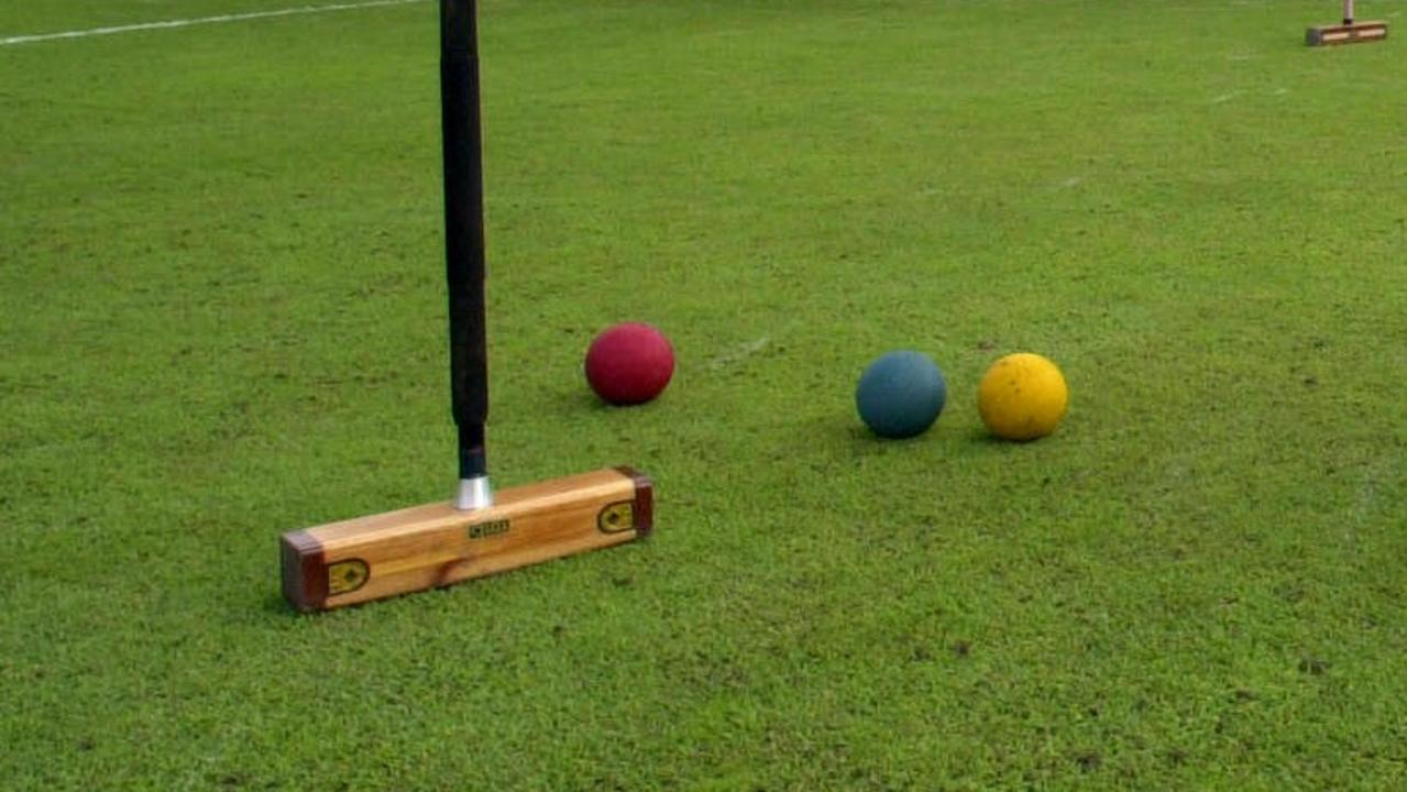 There was plenty of croquet action this week.