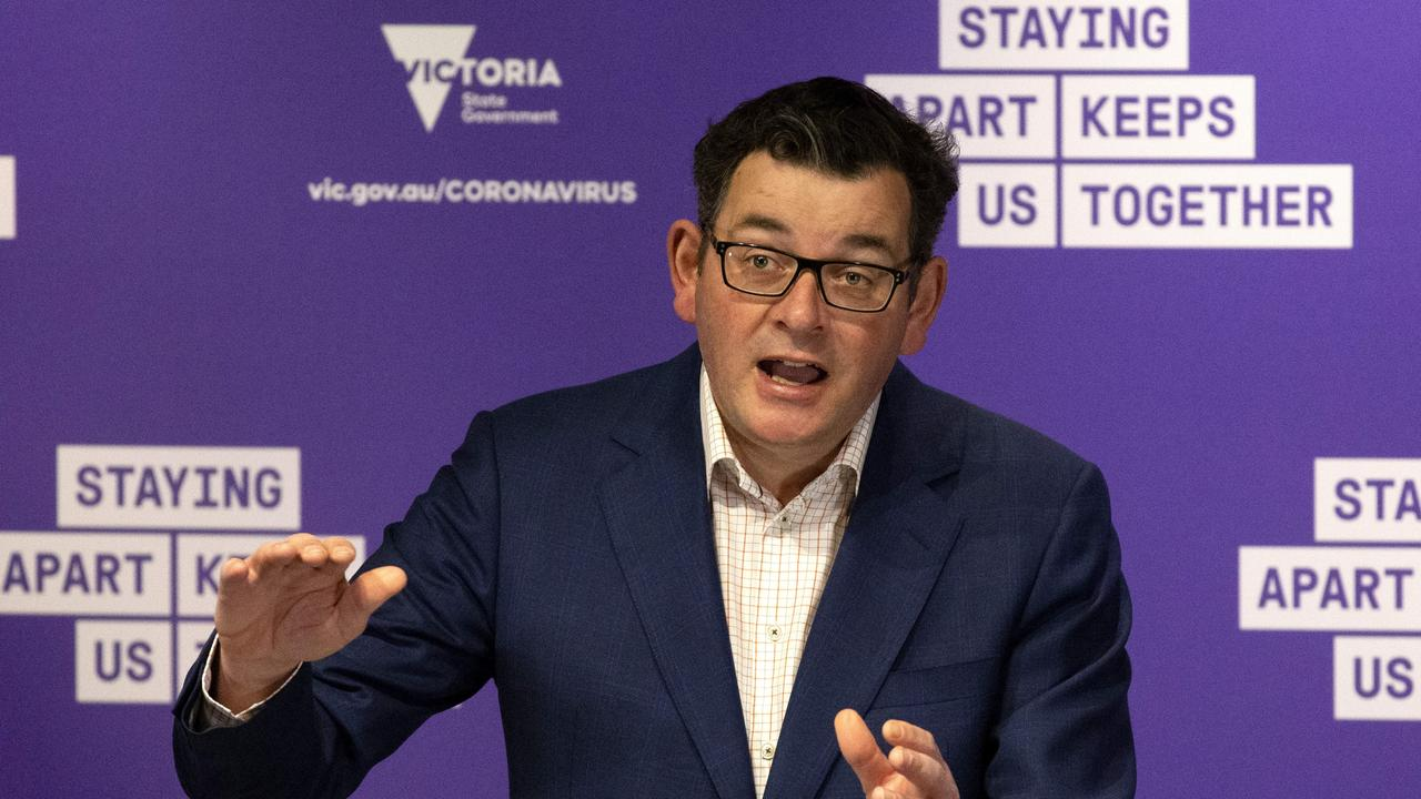 The Victorian COVID restrictions enforced by Premier Daniel Andrews have had a devestating impact. Picture: David Geraghty