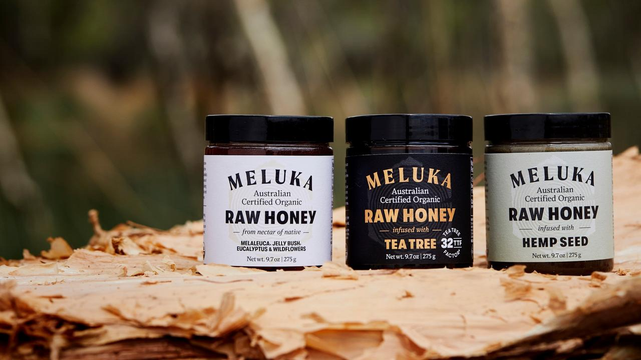 Meluka honey is from the Northern Rivers.