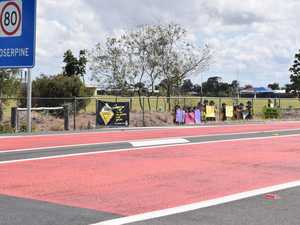 How bit of colour will help slow down drivers at Proserpine