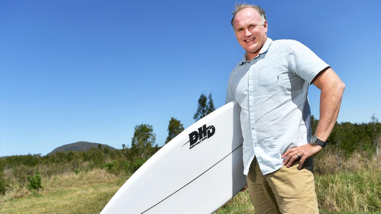 THE man behind the push for a $1.2 billion Surf Ranch at Coolum, Andrew Stark. Photo Patrick Woods / Sunshine Coast Daily.