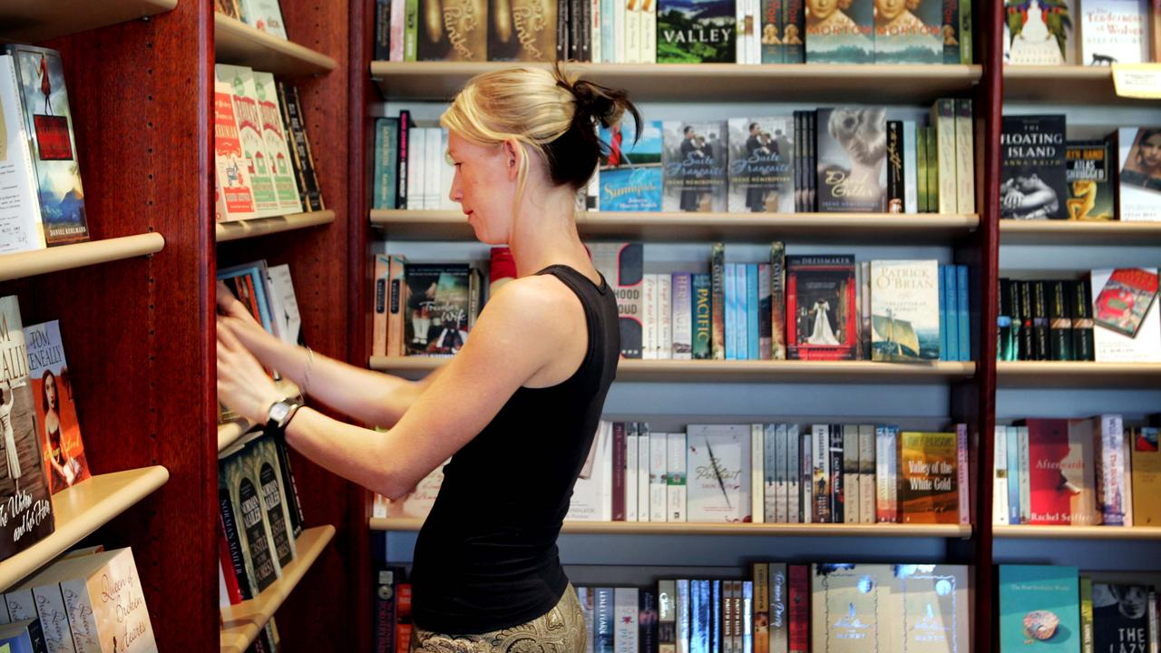 Popular Coast business Mary Ryan's Book Store in Noosa's Hastings St will close their doors in October. Picture: Jeff Camden