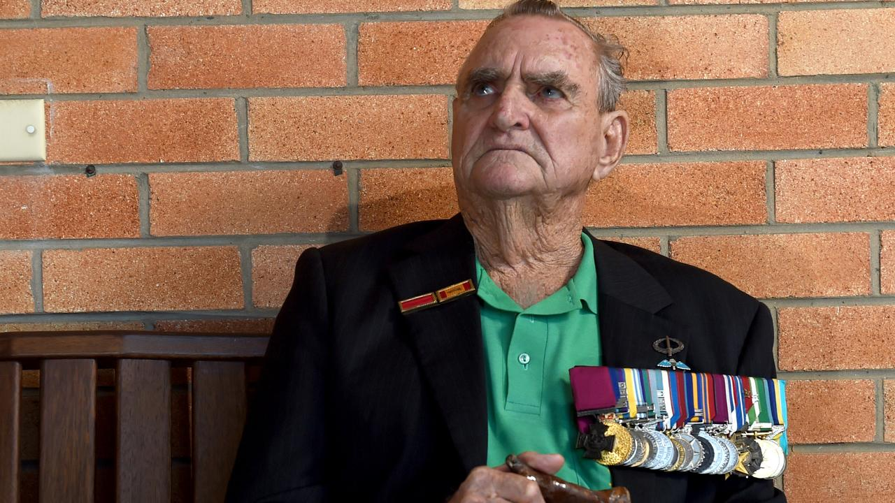 Victoria Cross recipient and Andergrove veteran Keith Payne. Picture: Evan Morgan
