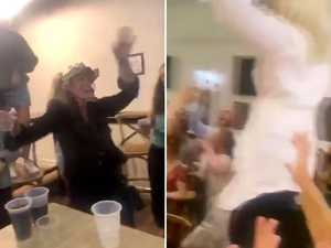 Dancing on chairs: Qld pub accused of breaking COVID rules
