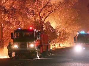 IT'S OFFICIAL: Bushfire season back again