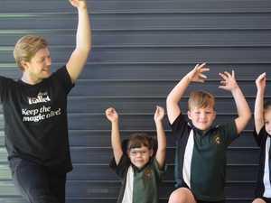 Queensland Ballet inspires Gladstone students