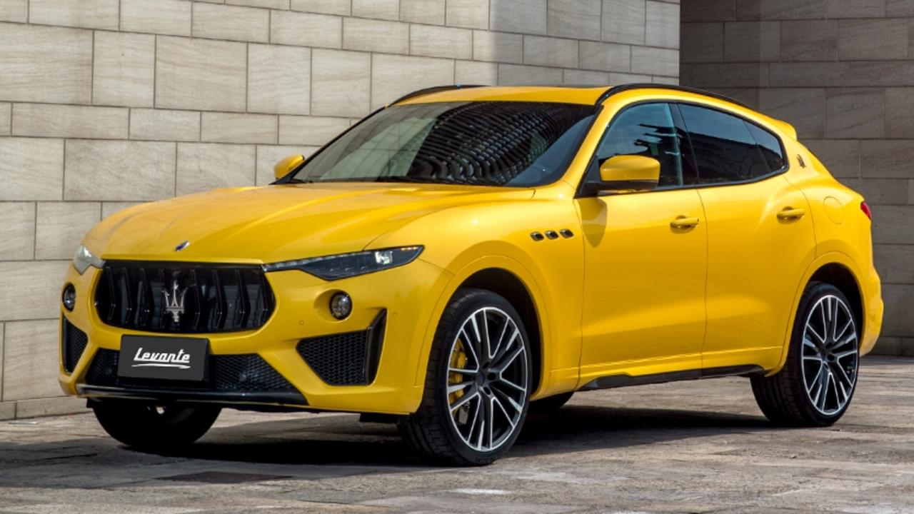 At the heart of the new Maserati Levante Trofeo is a Ferrari-built V8.