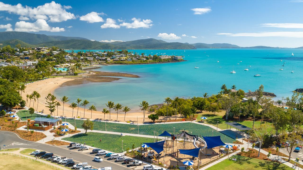 The Airlie Beach foreshore. Picture: Phill Gordon