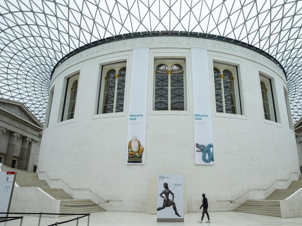 A general view of the British Museum. Picture: News Corp Australia Network