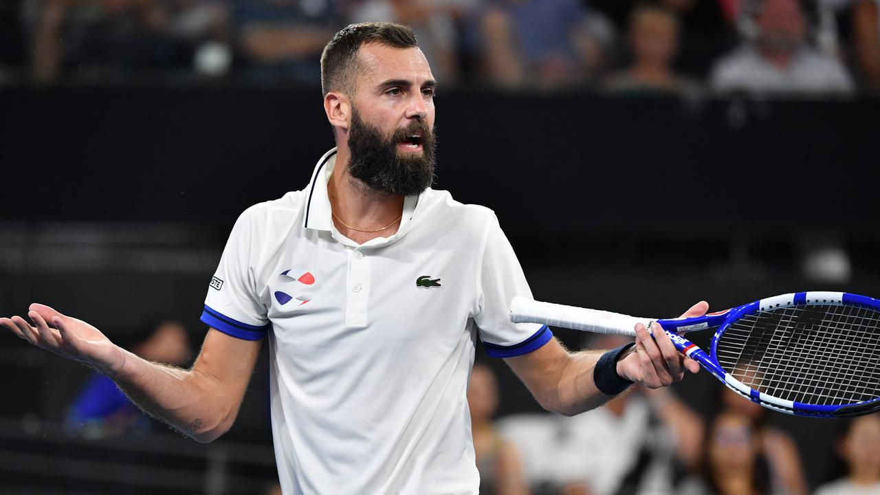 Benoit Paire withdrawn from men's draw after testing positive for COVID 19