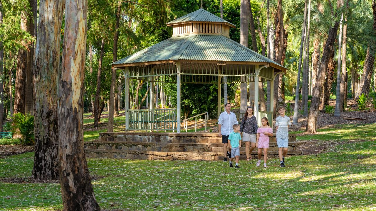Emerald Botanic Gardens is a wonderful spot to relax. Photo: file