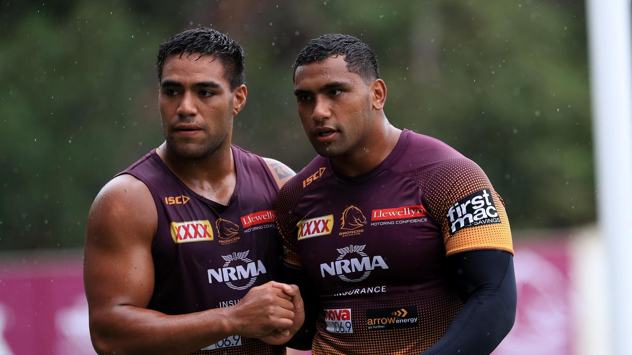 Tevita Pangai Jr will survive for at least another 12 months at the Broncos. The club never had a hope of sacking their wayward star. TRAVIS MEYN explains why.