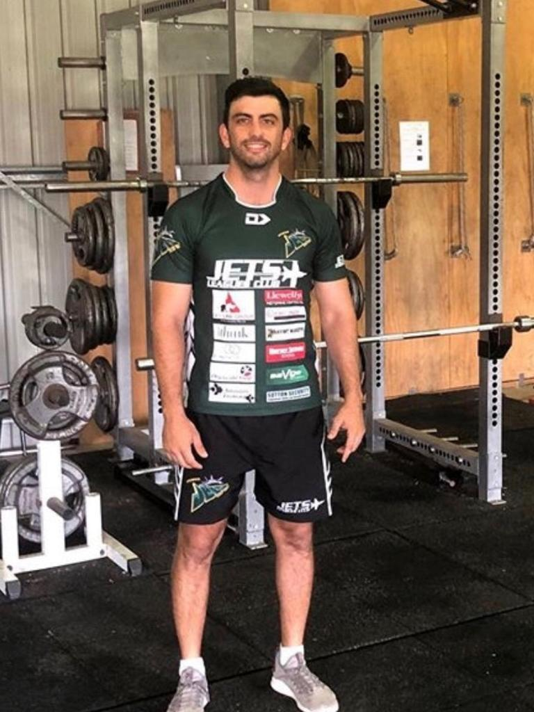 Ipswich Jets and Ipswich State High strength and conditioning coach Jonathan Dore