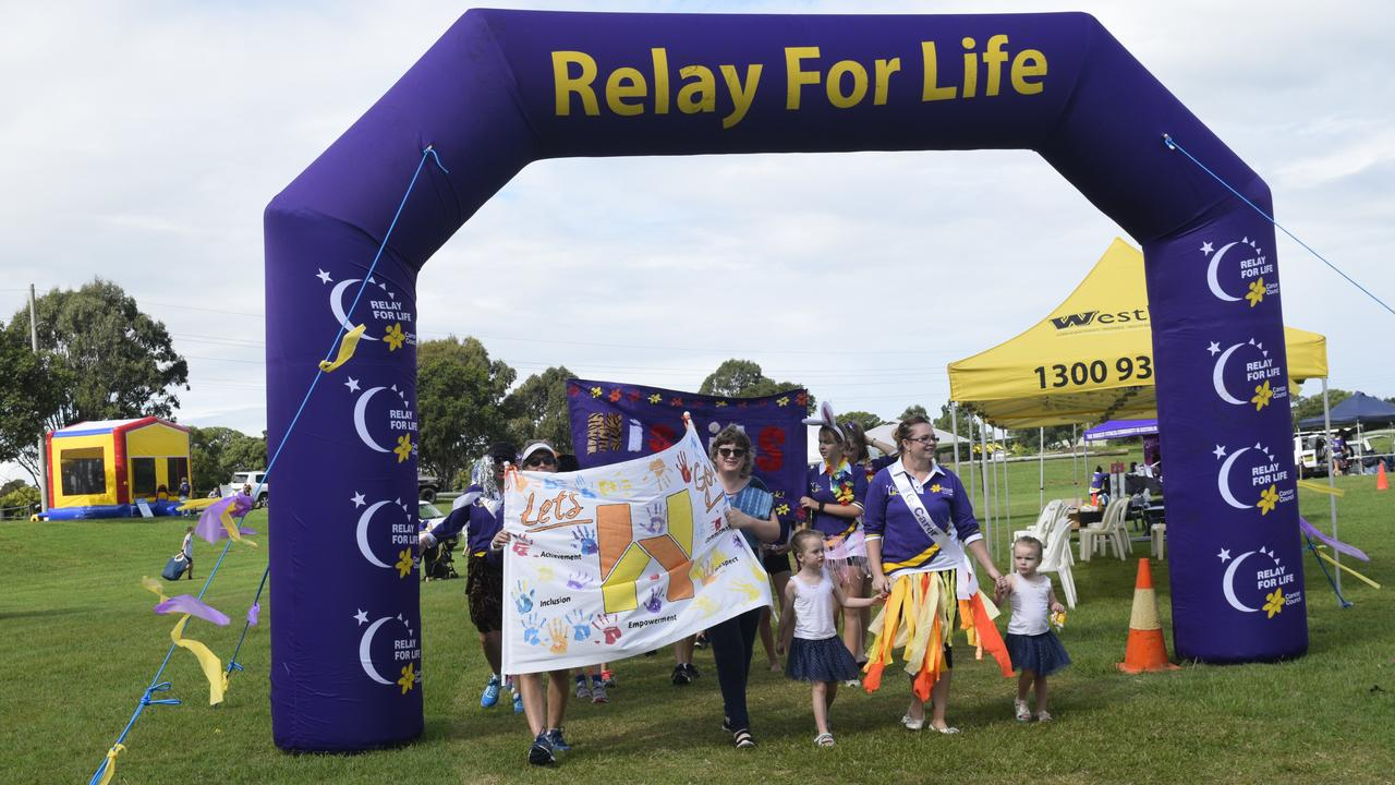 Grafton's Relay for Life opening ceremony