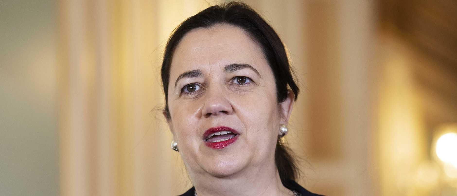 Annastacia Palaszczuk Presser