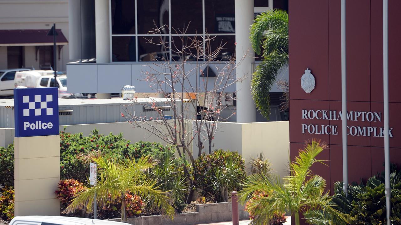 Rockhampton Police Station.