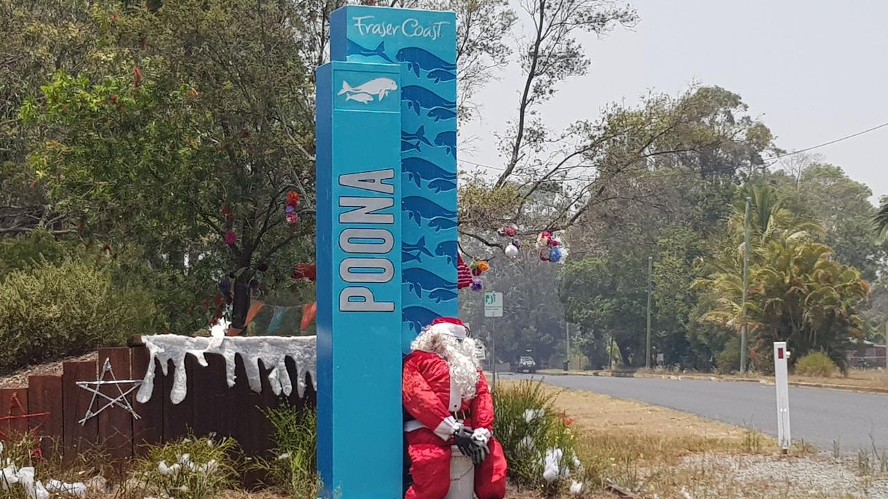 Decorations bought with a Council Grant in 2019 at Poona. The 2020/21 round of grants will open on September 7. Photo: File
