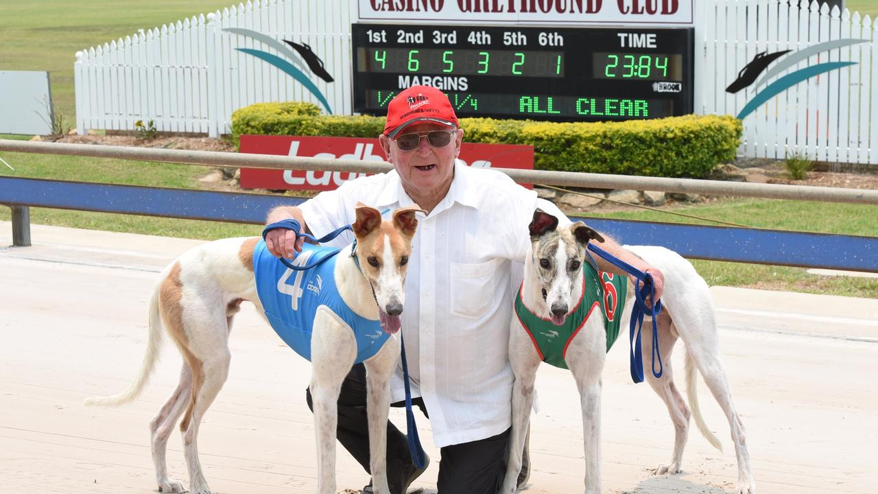 ON TRACK: As animal welfare group Coalition for the Protection of Greyhound calls for an end to racing ahead of the statewide Millions Dollar Chase on September 3, 2020, Casino Greyhound Racing Club and the Greyhound Welfare and Integrity Commission said the increase of adherence to stricter guidelines and the good work on on-course vets has seen injury and death rates decrease. Photo Lisa Vander