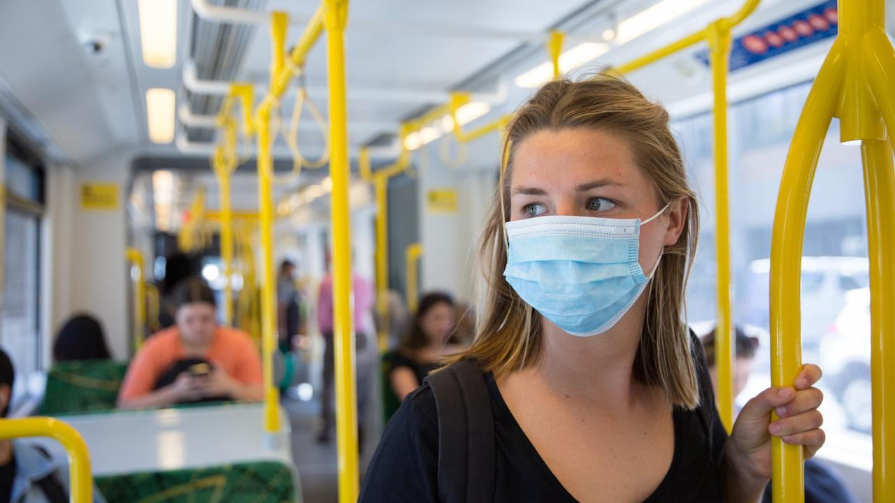 A stockpile of more than 30,000 face masks is not being distributed to workers or bus drivers despite a growing cluster of coronavirus.