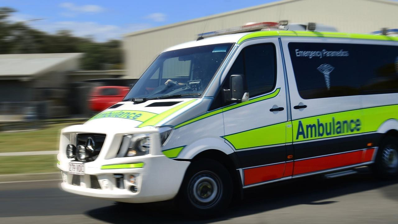 A girl has suffered significant leg injuries after being run over by a car at Loganholme.