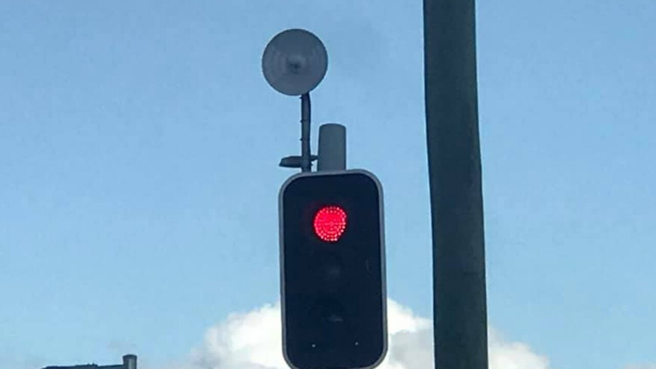 Transport and Main Roads has revealed the story behind the small radar dishes mounted on some of Gympie's traffic lights.