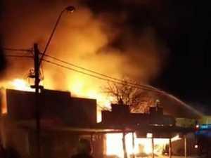VIDEO: Devastating blaze destroys several businesses