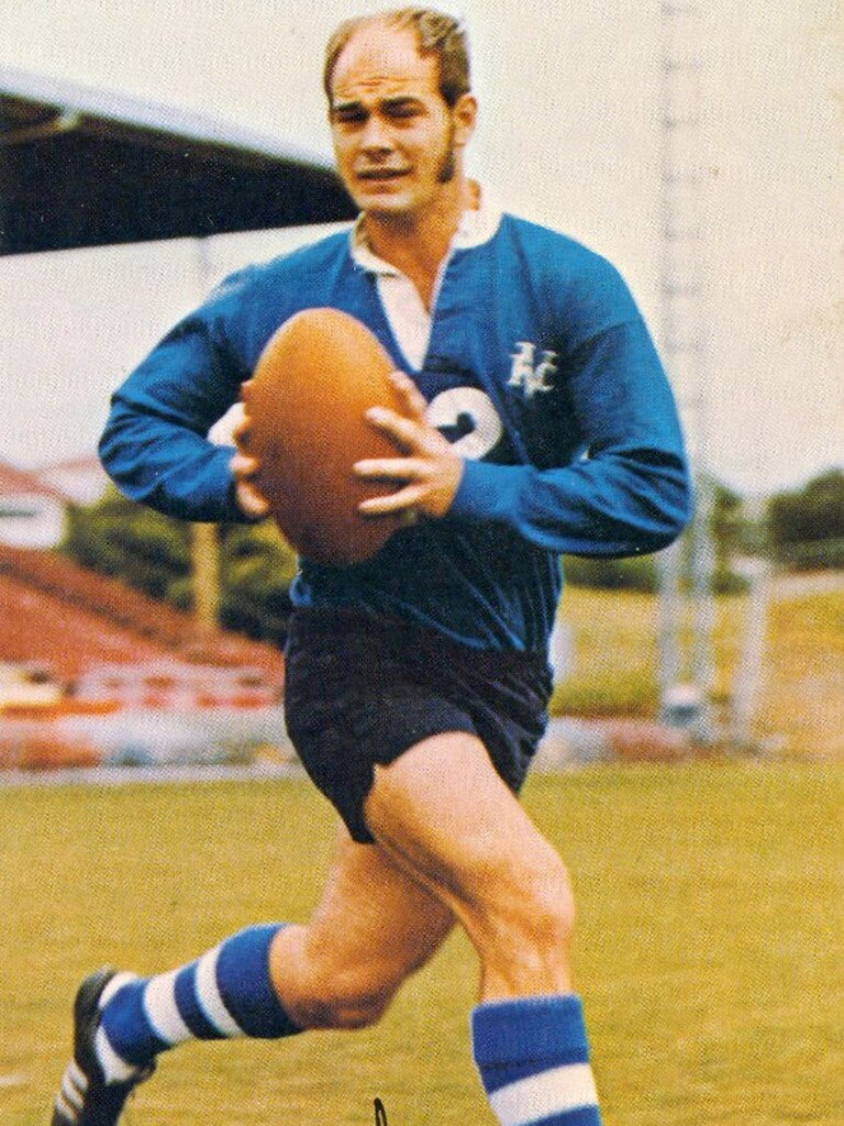 Ipswich rugby league great Hugh O'Doherty