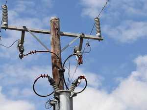 POWER OUTAGE: Huge gum tree branch brings down powerlines