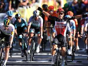 Irresistible Aussie wins at Tour de France