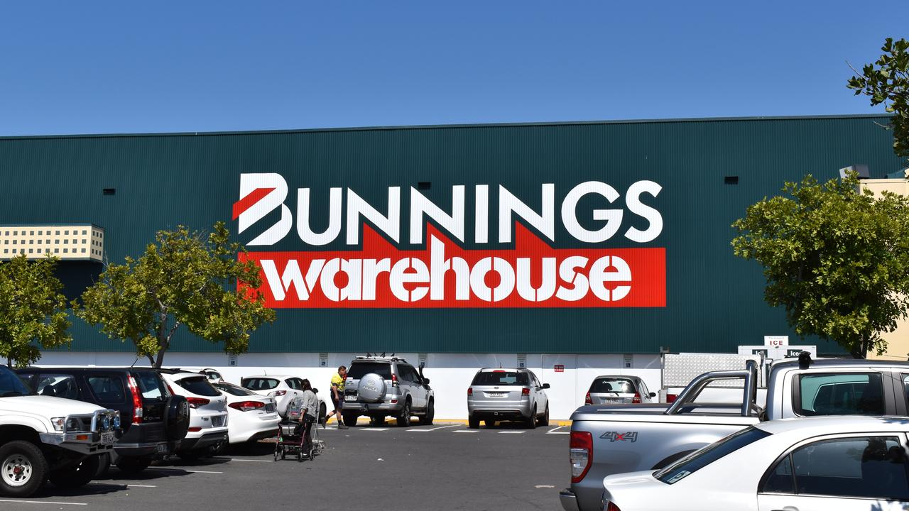 Multiple Bunnings stores targeted – generic image.