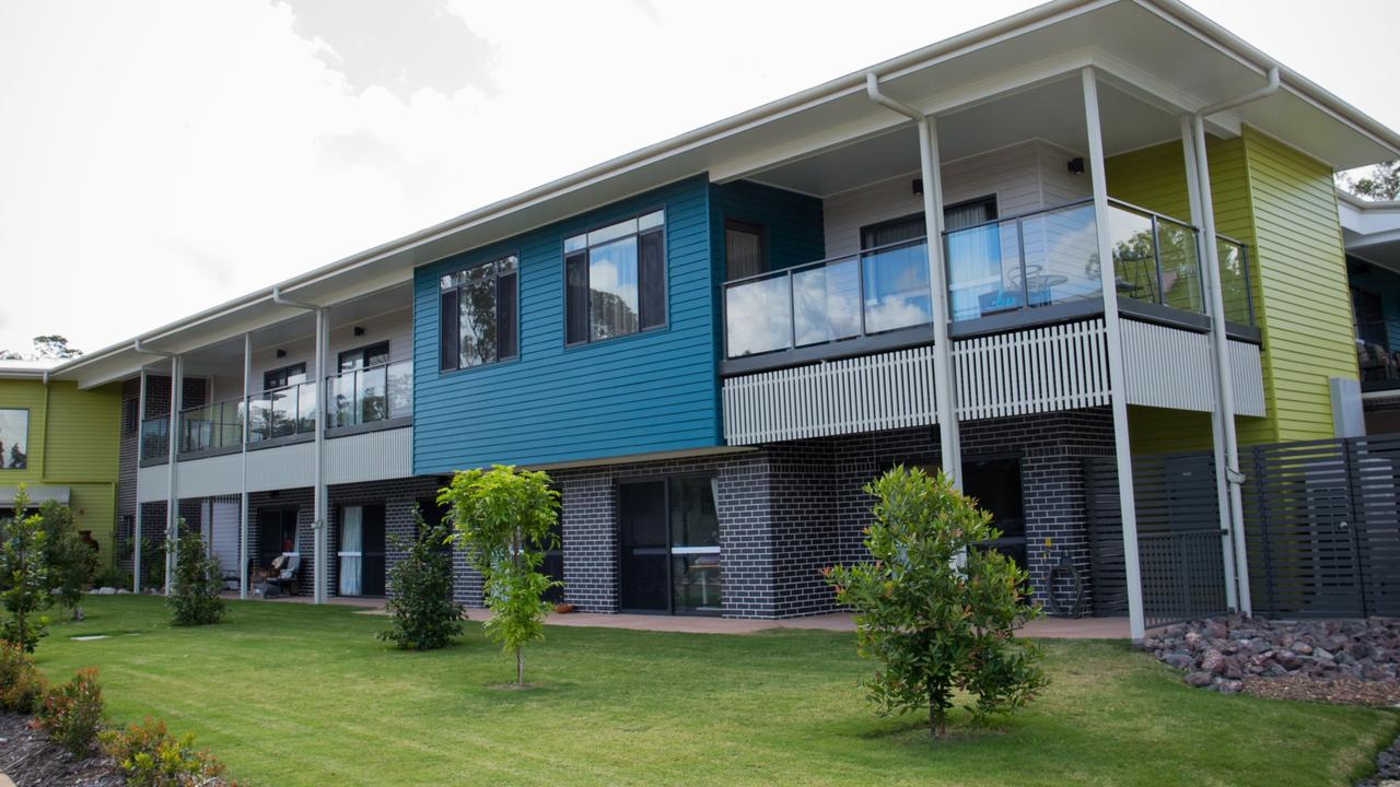 The Hibiscus complex at the Cooinda Aged Care Facility in Gympie.