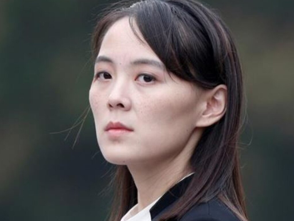Kim Yo-jong, sister of North Korean leader Kim Jong-un. Picture: Reuters