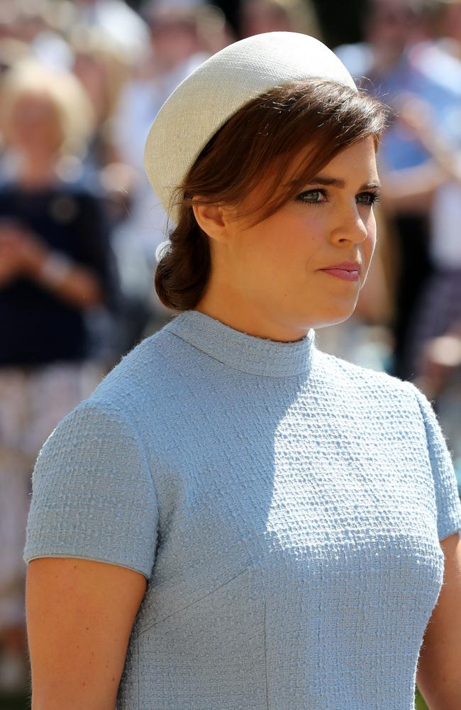 Princess Eugenie at Prince Harry and Meghan Markle's wedding in 2018. Picture: Getty Images