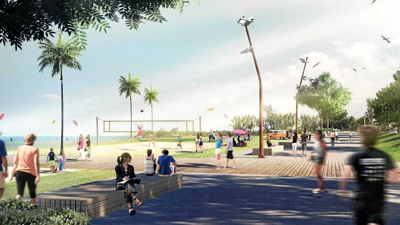 Mackay Waterfront Priority Development Area artist renditions.