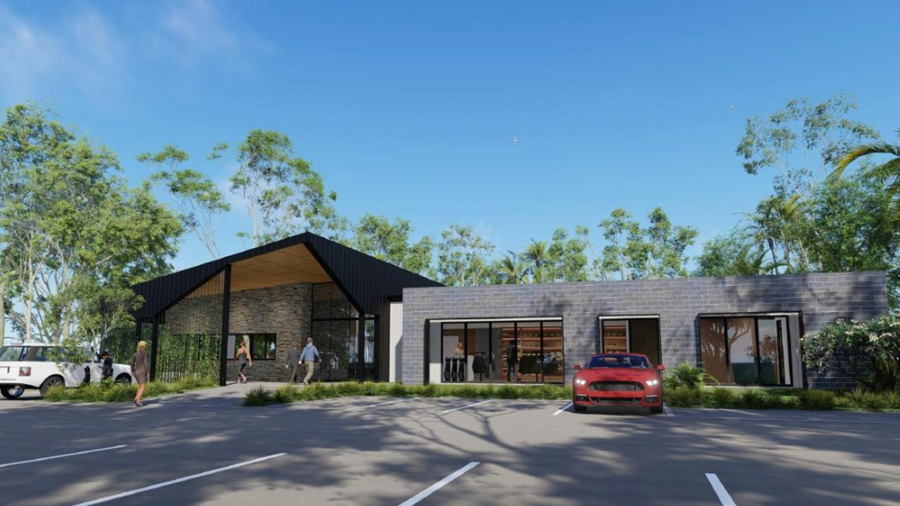 The proposed development of Coast retirement resort partially built on a Coast golf course will provide numerous benefits to the club, including a new club house. Picture: Supplied