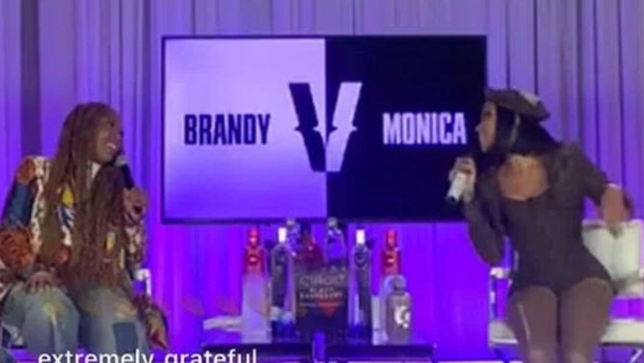Brandy and Monica appeared together on an Instagram Live.
