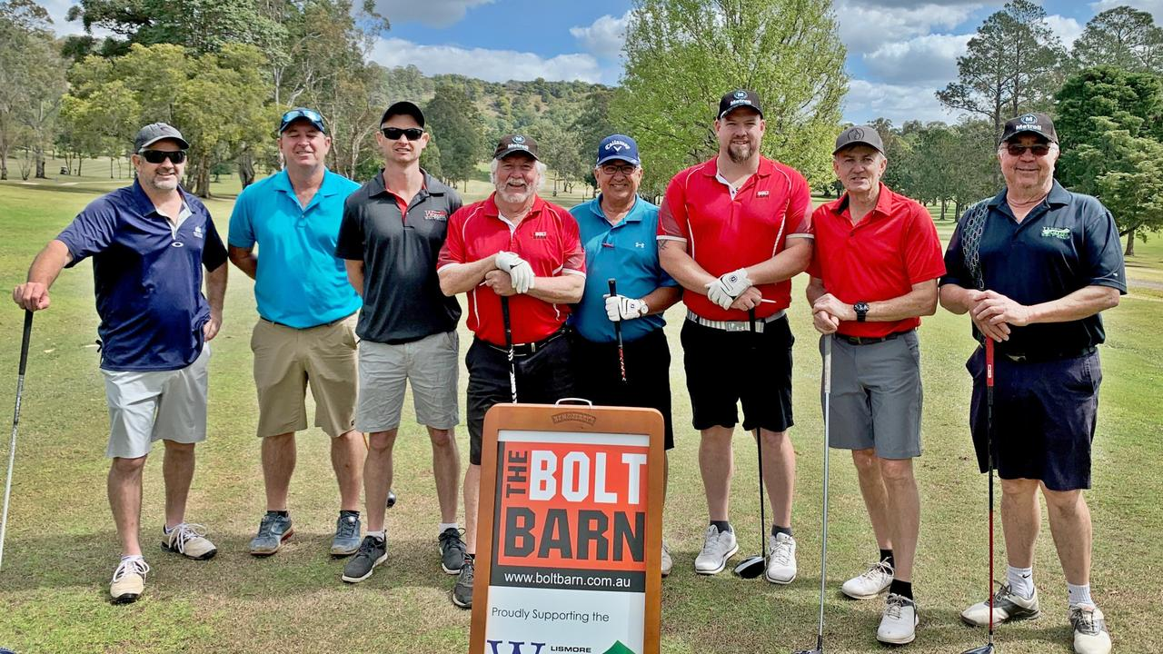 LISMORE WORKERS: On Saturday August 29 at the Lismore Workers Golf Club sponsors and players enjoyed a terrific day out in the 4BBB Stableford Multiplier.