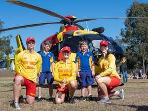 Why Lockyer school kids were visited by rescue chopper