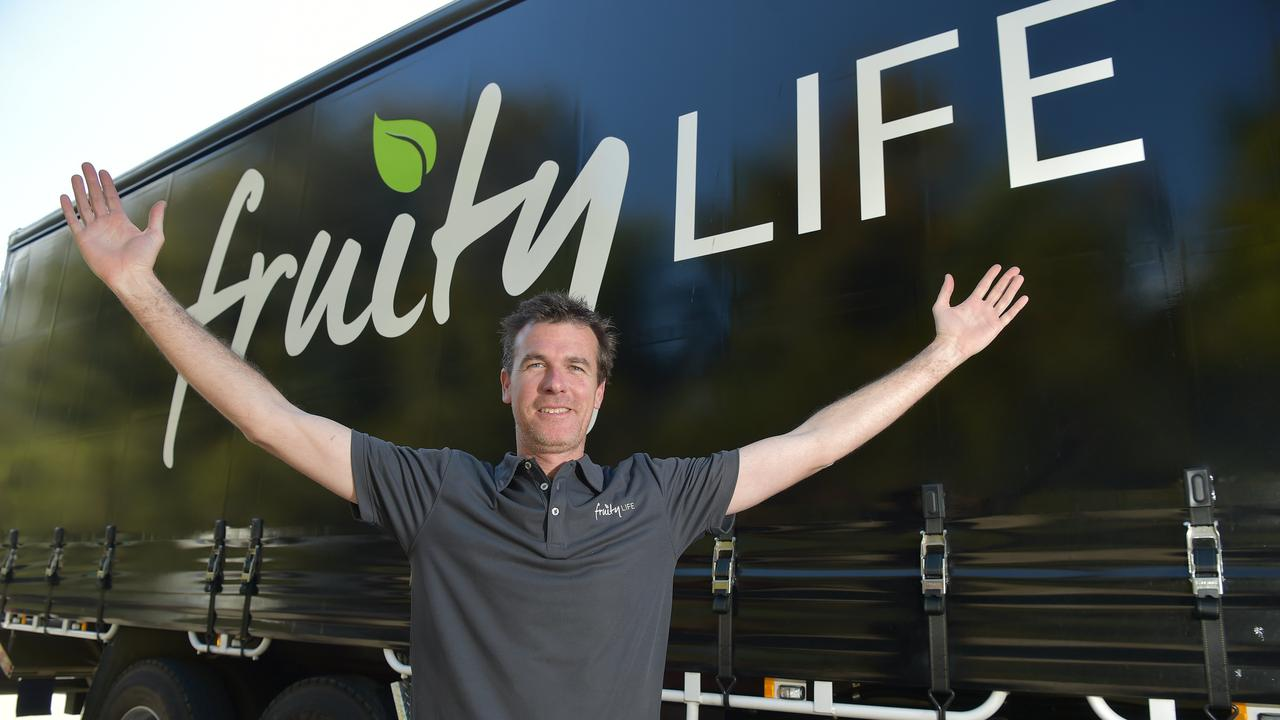 Fruity Life owner Kurt Drummond.