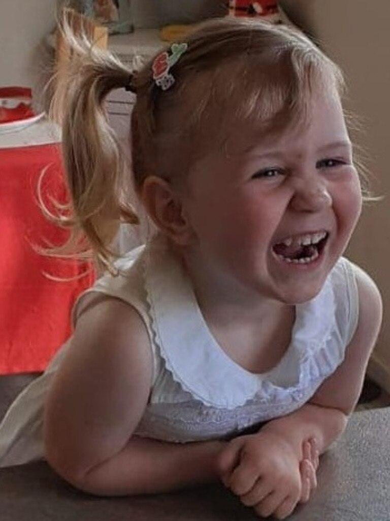 She was three. Picture: Emma Pennington-Foley/Facebook
