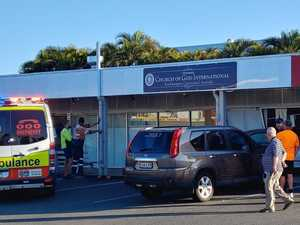 UPDATE: Lucky escape as car crashes into Rocky shopfront