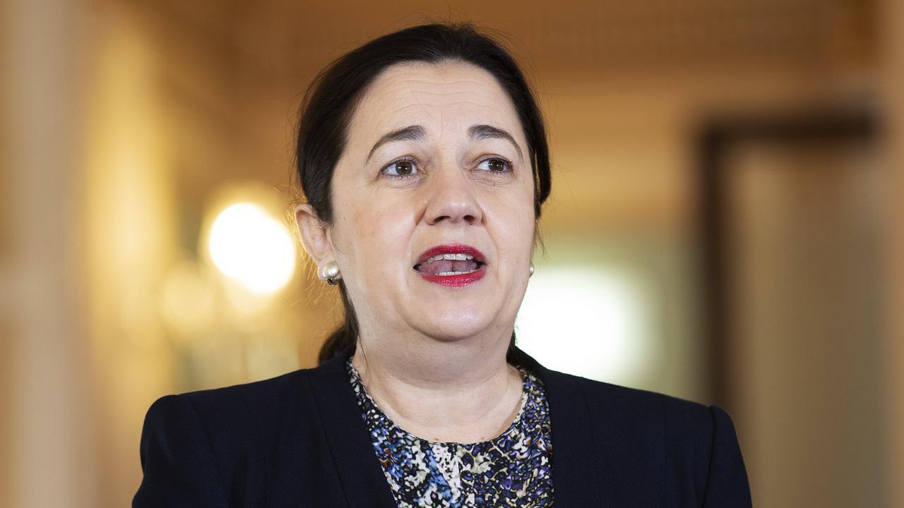 Premier Annastacia Palaszczuk is refusing to back down on tough border restrictions. Picture: Attila Csaszar