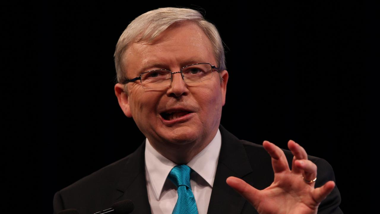 Kevin Rudd and Paul Keating have teamed up to lash out against Scott Morrison's government.