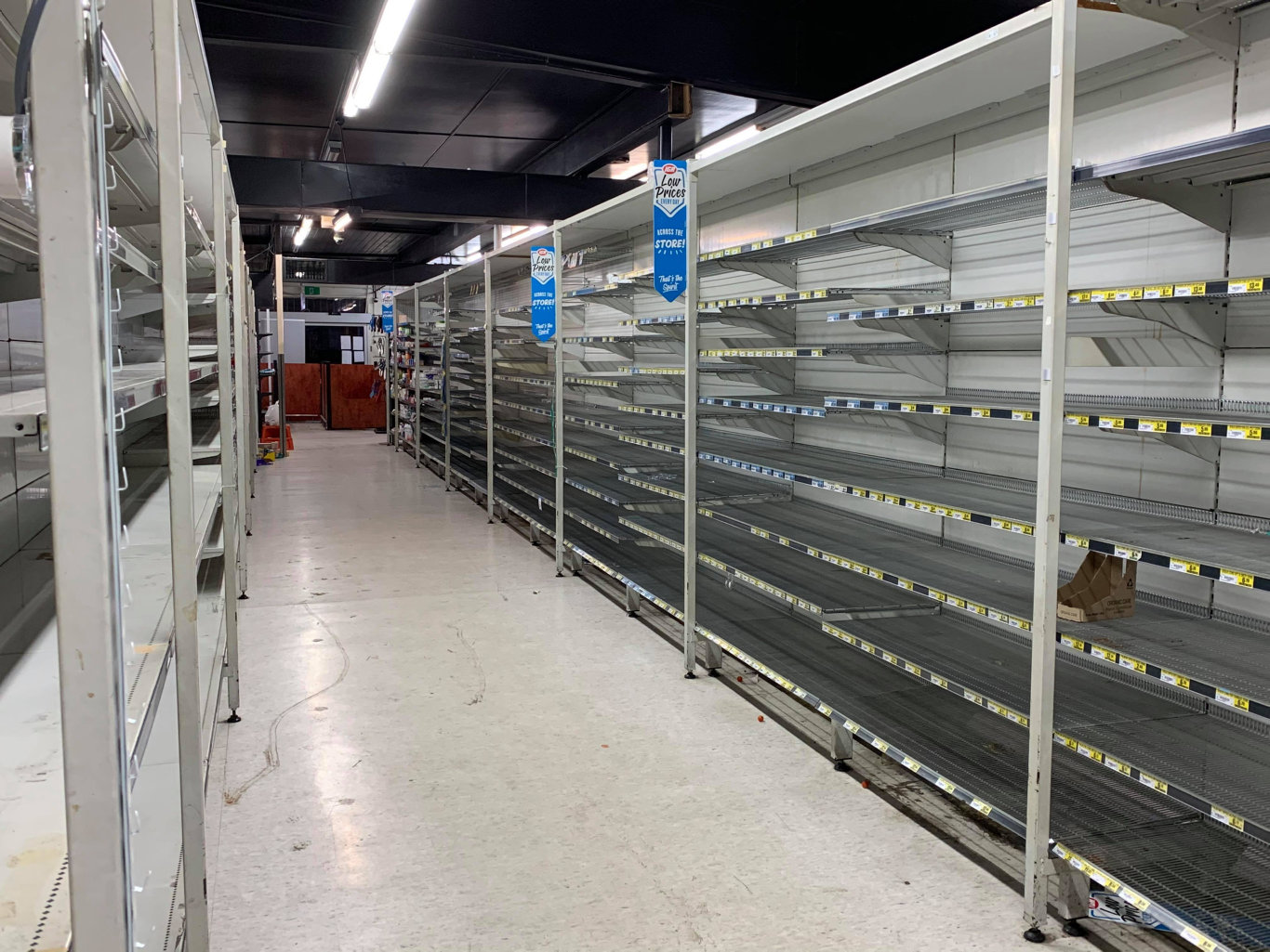 Nick's IGA owner Nick Habgood said they were permanently closing down the Shakespeare St store and were now selling stock at 50 per cent off until it was cleared. Photo: Heidi Petith
