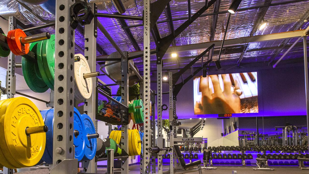 General photograph of Anytime Fitness at Wynnum Shopping Centre. (AAP Image/Richard Walker)